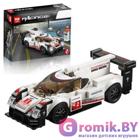 КОНСТРУКТОР BELA Speeds Champion Porsche 919 Hybrid 169 дет. АРТ.10942 АНАЛОГ LEGO 75887